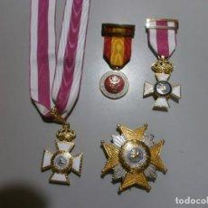 Militaria: GRAN LOTE DE MEDALLAS MILITARES ESPAÑOLAS PERFECTO ESTADO ORIGINALES. Lote 168197348
