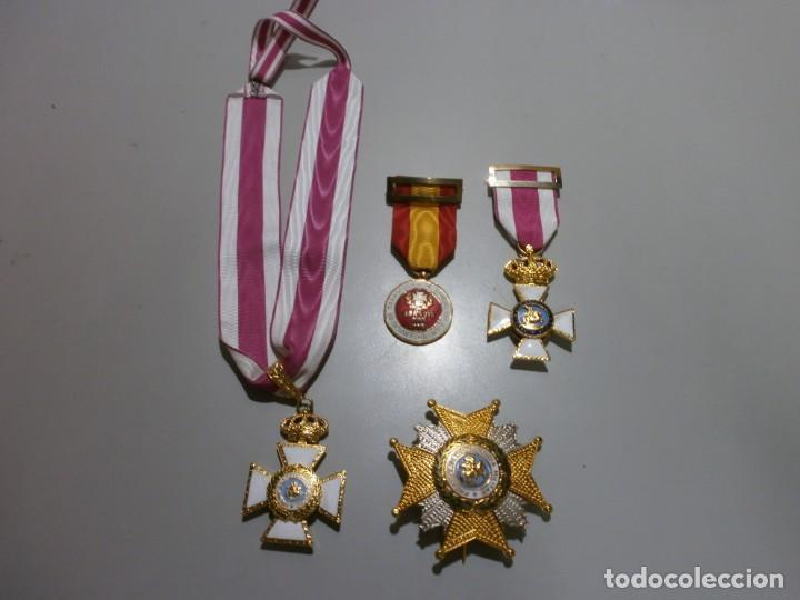 Militaria: gran lote de medallas militares españolas perfecto estado originales - Foto 2 - 168197348