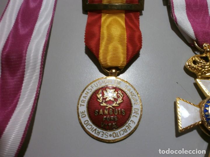 Militaria: gran lote de medallas militares españolas perfecto estado originales - Foto 3 - 168197348