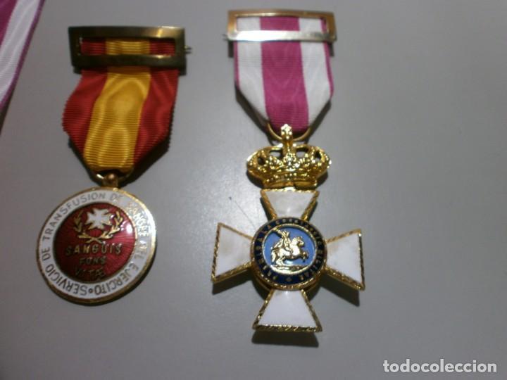 Militaria: gran lote de medallas militares españolas perfecto estado originales - Foto 4 - 168197348