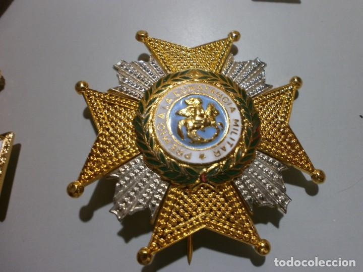 Militaria: gran lote de medallas militares españolas perfecto estado originales - Foto 6 - 168197348