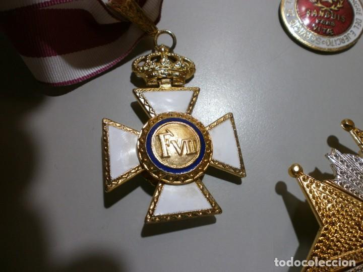 Militaria: gran lote de medallas militares españolas perfecto estado originales - Foto 7 - 168197348