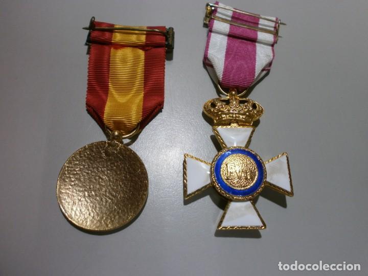 Militaria: gran lote de medallas militares españolas perfecto estado originales - Foto 8 - 168197348