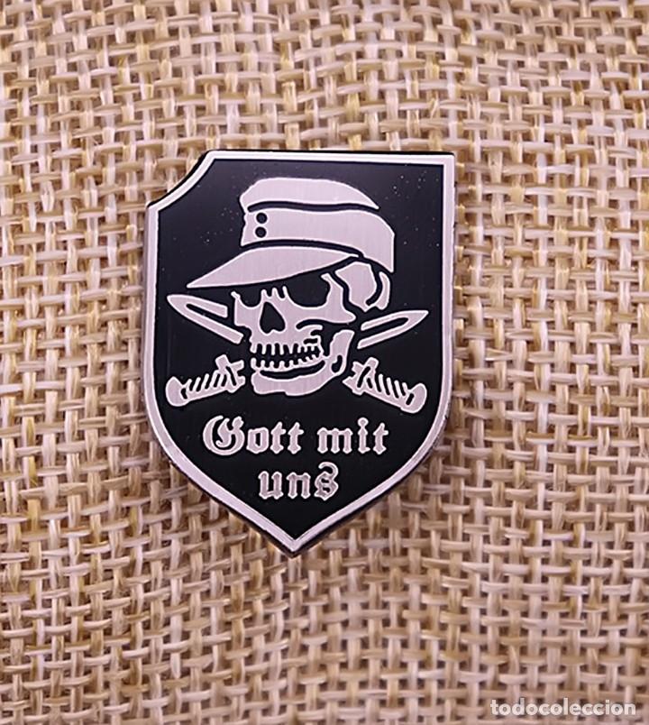 PIN GOTT MIT UNS.PIN GOTT MIT UNS. TERCER REICH. NAZI TERCER REICH. NAZI (Militar - Reproducciones y Réplicas de Medallas )