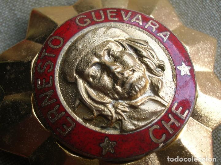 BELLISIMA ORDEN CUBANA DE ERNESTO CHE GUEVARA. REPUBLICA DE CUBA. PRIMER GRADO. REVOLUCION CUBANA. (Militar - Medallas Internacionales Originales)