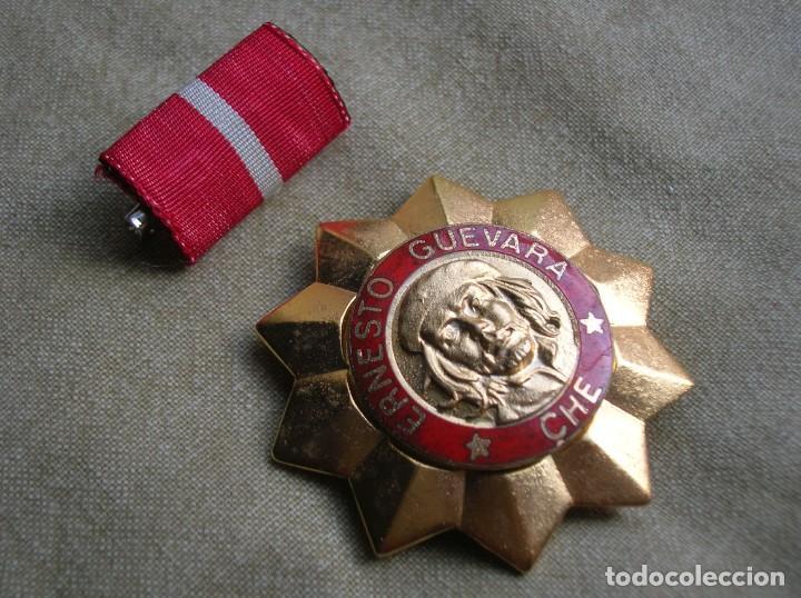 Militaria: BELLISIMA ORDEN CUBANA DE ERNESTO CHE GUEVARA. REPUBLICA DE CUBA. PRIMER GRADO. REVOLUCION CUBANA. - Foto 2 - 168387452
