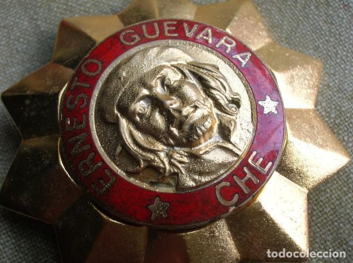 Militaria: BELLISIMA ORDEN CUBANA DE ERNESTO CHE GUEVARA. REPUBLICA DE CUBA. PRIMER GRADO. REVOLUCION CUBANA. - Foto 4 - 168387452