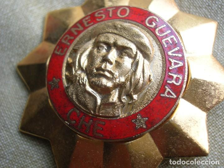 Militaria: BELLISIMA ORDEN CUBANA DE ERNESTO CHE GUEVARA. REPUBLICA DE CUBA. PRIMER GRADO. REVOLUCION CUBANA. - Foto 7 - 168387452