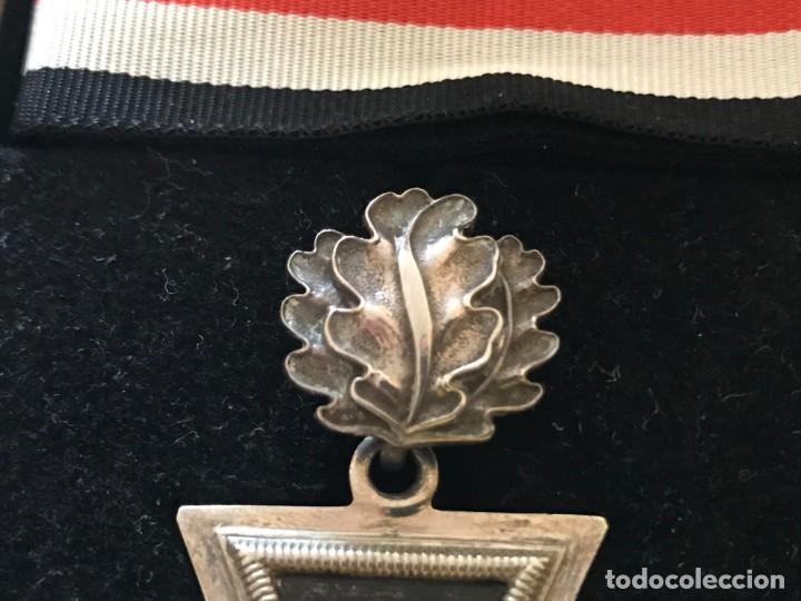 Militaria: Cruz de Caballero con hojas de roble eichenlaub ritterkreuz Reich Hitler Fuhrer NSDAP nazi - Foto 6 - 168494316