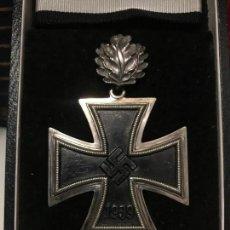 Militaria: CRUZ DE CABALLERO CON HOJAS DE ROBLE EICHENLAUB RITTERKREUZ REICH HITLER FUHRER NSDAP NAZI. Lote 168494316