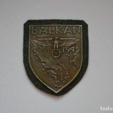 Militaria: WWII THE GERMAN BALKAN SHIELD. Lote 294111988