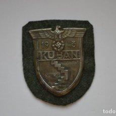 Militaria: WWII THE GERMAN KUBAN SHIELD. Lote 262073420