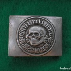 Militaria: WWII THE GERMAN GOTT MIT UNS. Lote 168638836
