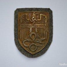 Militaria: WWII THE GERMAN WARSAW SHIELD. Lote 294111998
