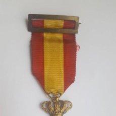 Militaria: CRUZ MÉRITO NAVAL DISTINTIVO BLANCO ÉPOCA ALFONSO XIII . Lote 169296404