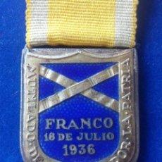 Militaria: MEDALLA DE MUTILADO EN LA GUERRA CIVIL - 1938. Lote 169456012