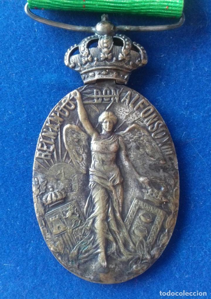 Militaria: MEDALLA CAMPAÑA DE MARRUECOS 1916 - CATEGORIA BRONCE - Foto 3 - 169457204