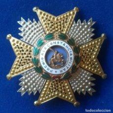 Militaria: PLACA DE LA ORDEN DE SAN HERMENEGILDO - AÑOS 50. Lote 169586328