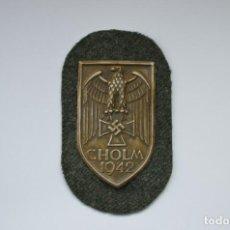 Militaria: WWII THE GERMAN CHOLM SHIELD. Lote 169597449