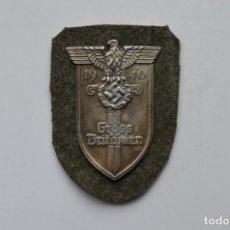 Militaria: WWII THE GERMAN GROSS BRITANIEN SHIELD. Lote 294112038