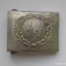 Militaria: WWII THE GERMAN BUCKLE POLICE POLIZEI SS. Lote 170032976