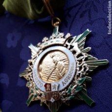 Militaria: ENCOMIENDA DE LA ORDEN DEL MERITO AGRICOLA - PLATA DORADA - MINISTERIO DE AGRICULTURA - FRANCO. Lote 170162446