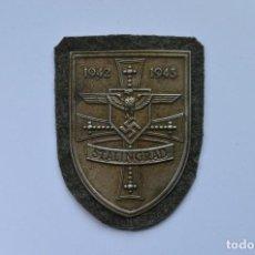 Militaria: WWII THE GERMAN STALINGRAD SHIELD. Lote 170305517