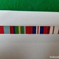 Militaria: WW2. REINO UNIDO. PASADOR CUATRO MEDALLAS. Lote 170529524