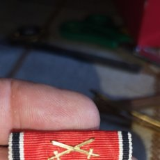 Militaria: PASADOR PARA UNIFORME DE DIARIO DE LA ORDEN DEL ÁGUILA ÉPOCA GUERRA CIVIL PERTENECIÓ A UN GENERAL DE. Lote 170665157