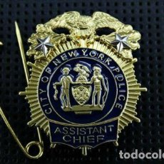 Militaria: PLACA DE LA POLICÍA DE NUEVA YORK. DEL NEW YORK CITY POLICE DEPARTMENT (NYPD).. Lote 170977603