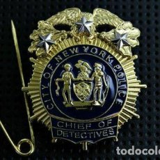 Militaria: PLACA DE LA POLICÍA DE NUEVA YORK. DEL NEW YORK CITY POLICE DEPARTMENT (NYPD).. Lote 170977779