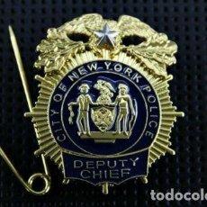 Militaria: PLACA DE LA POLICÍA DE NUEVA YORK. NEW YORK CITY POLICE (NYPD).. Lote 170978709