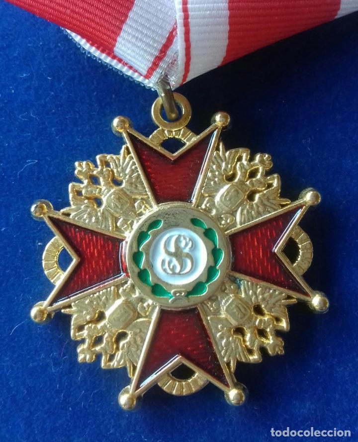 RUSIA - ORDEN DE SAN ESTANISLAO (Militar - Reproducciones y Réplicas de Medallas )