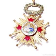 Militaria: ENCOMIENDA ISABEL LA CATÓLICA - ISABEL II. - 5,5 CM DE DIÁMETRO. Lote 171030124