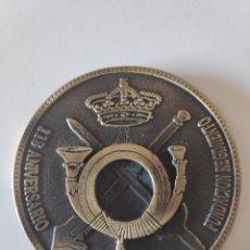 Militaria: MEDALLA MILITAR 118 ANIVERSARIO EL BIZARRO, REGIMIENTO GARELLANO N°45, VIZCAYA.. Lote 171056099