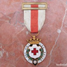 Militaria: MEDALLA DE 2ª CLASE DE LA CRUZ ROJA ESPAÑOLA ÉPOCA FRANCO. Lote 171111560
