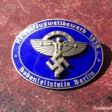 Militaria: CONDECORACIÓN NAZI IIG.M. ESMALTADA , DE DOS PIEZAS .. Lote 171152970