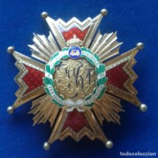 Militaria: PLACA DE COMENDADOR DE NUMERO DE LA ORDEN DE ISABEL LA CATOLICA - ALFONSO XIII. Lote 171389085