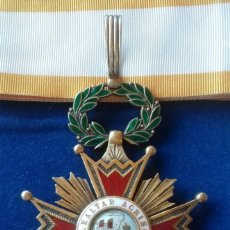 Militaria: ENCOMIENDA ORDEN ISABEL LA CATOLICA - EPOCA DE FRANCO. Lote 171604463