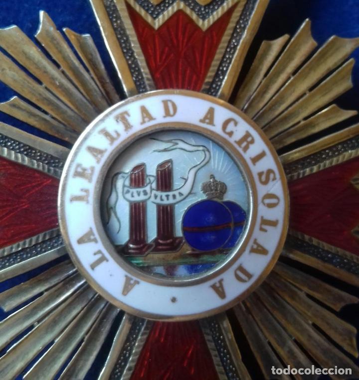 Militaria: ENCOMIENDA ORDEN ISABEL LA CATOLICA - EPOCA DE FRANCO - Foto 2 - 171604463