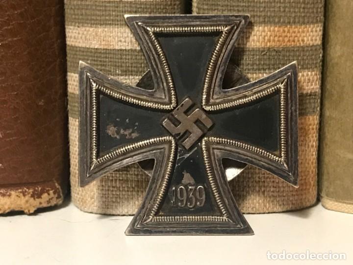 MEDALLA CRUZ DE HIERRO 1ªCLASE 1939 L58 TERCER REICH ADOLF HITLER FUHRER NAZI EK1 EK2 (Militar - Medallas Extranjeras Originales)