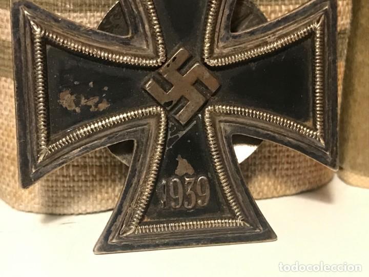 Militaria: MEDALLA CRUZ DE HIERRO 1ªCLASE 1939 L58 TERCER REICH ADOLF HITLER FUHRER NAZI EK1 EK2 - Foto 3 - 194339233