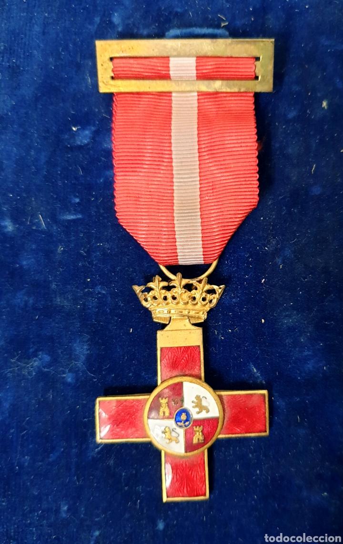 Militaria: Cruz al merito militar, distintivo rojo - Foto 2 - 171827112