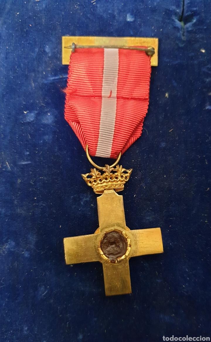 Militaria: Cruz al merito militar, distintivo rojo - Foto 3 - 171827112