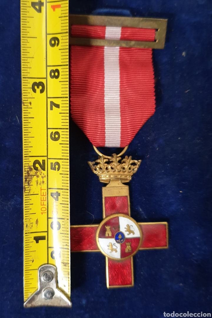 Militaria: Cruz al merito militar, distintivo rojo - Foto 4 - 171827112