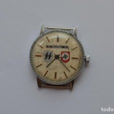 Militaria: WWII THE GERMAN WATCH POLICE WAFEN SS NSDAP. Lote 195014840