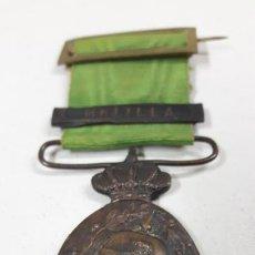 Militaria: ANTIGUA MEDALLA REINADO ALFONSO XIII MARRUECOS - MELILLA. Lote 171860214