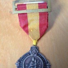 Militaria: SPANISH CIVIL WAR. MEDALLA DE PLATA RELIGIOSA. RR CARMELITAS DE LA CARIDAD. Lote 172527372