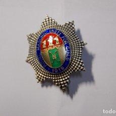 Militaria: RARA MEDALLA MASONICA PLATA MACIZA Y ESMALTES INGLESA DEL AÑO 1919.EXTRAORDINARIO ESTADO. Lote 172846007