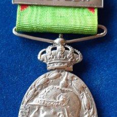Militaria: MEDALLA MILITAR DE MARRUECOS 1916 - CATEGORIA PLATA CON PASADOR MELILLA. Lote 173082967